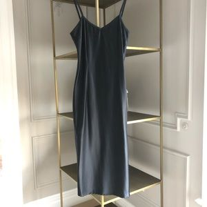 Pierre Balmain Lingerie Slip Dress Midnight Blue